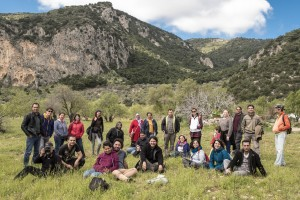 Nature School field trip with volunteers